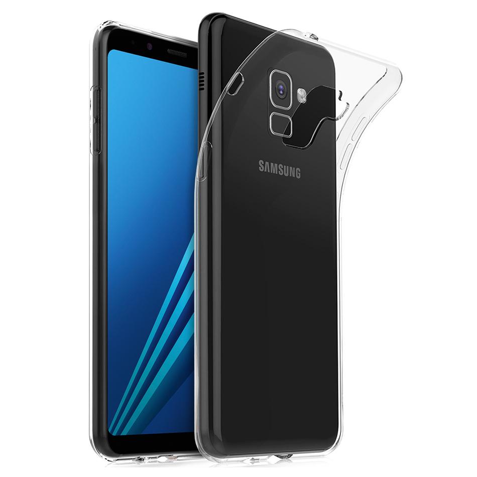 quality design 52847 e778a Flexi Ultra Slim Gel Case - Samsung Galaxy A8 (2018) - Clear